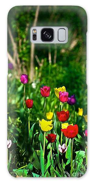 Tulip Rainbow Galaxy Case