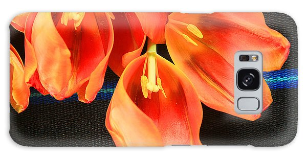 Tulip Study Galaxy Case by Jeanette French