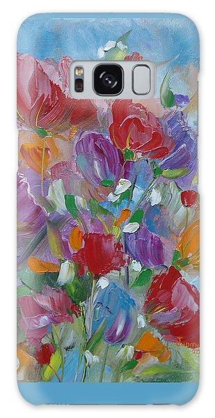 Tulip Symphony Galaxy Case by Judith Rhue