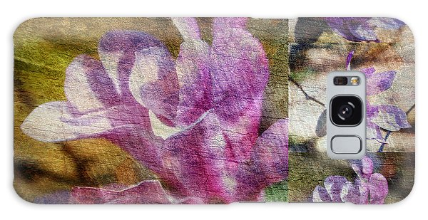 Tulip Tree Flower Collage Galaxy Case by Eva Thomas