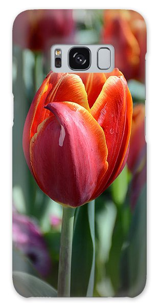 Tulip With A Twist Galaxy Case