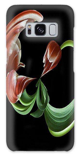 Tulipart Galaxy Case by Cyndy Doty