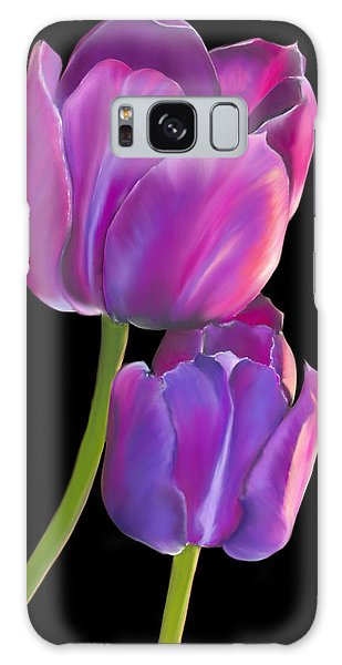 Tulips 2 Galaxy Case by Laura Bell