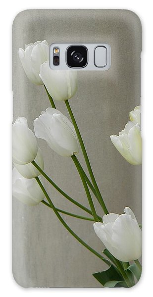 Tulips Against Pillar Galaxy Case