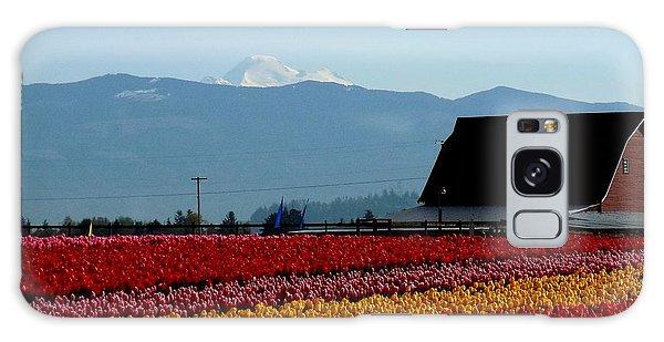 Tulips And Barn 2 Galaxy Case