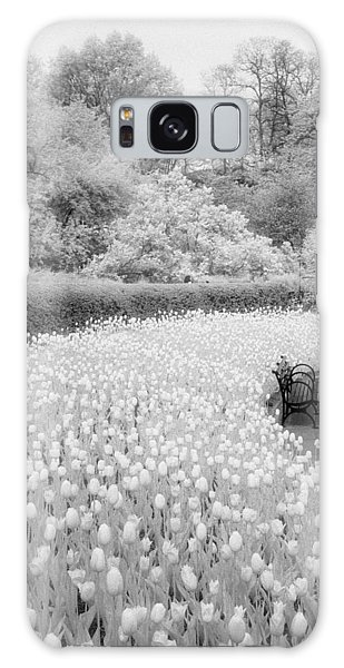 Tulips And Bench II Galaxy Case