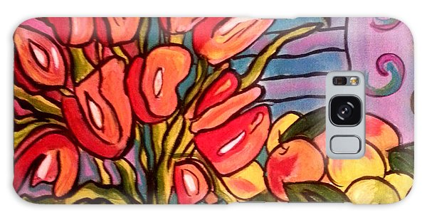 Tulips And Fruit Galaxy Case