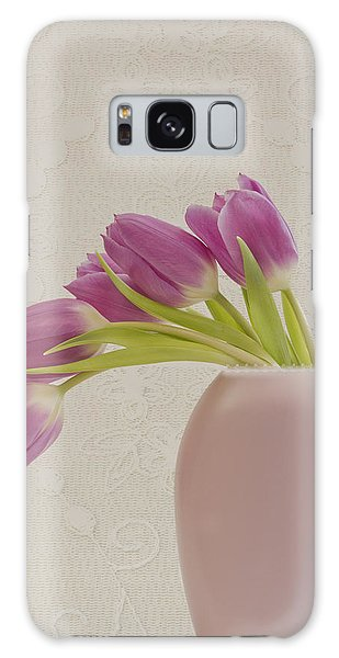 Tulips And Lace Galaxy Case