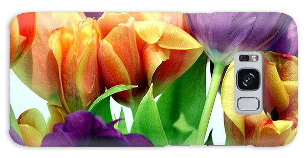 Tulips Bouquet Galaxy Case