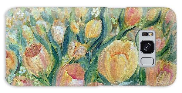 Tulips II Galaxy Case by Joanne Smoley