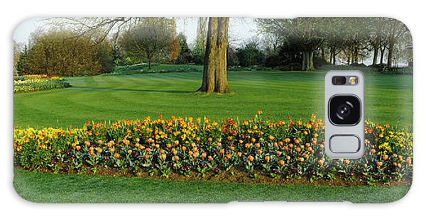 Tulips In Hyde Park, City Galaxy Case