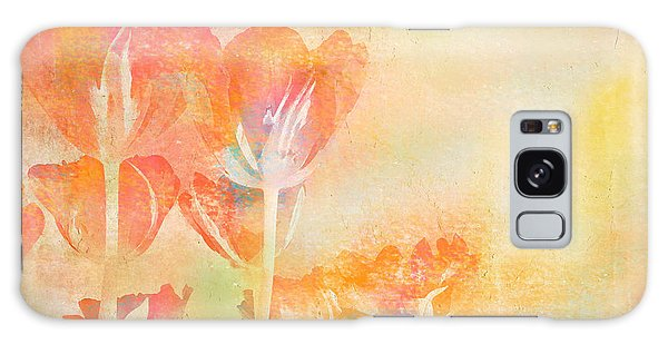 Tulips In Spring Galaxy Case by Peggy Collins
