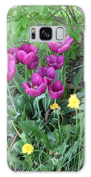 Tulips In Summer Galaxy Case