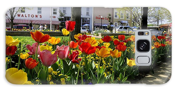 Tulips In The Spring Galaxy Case by Nava Thompson