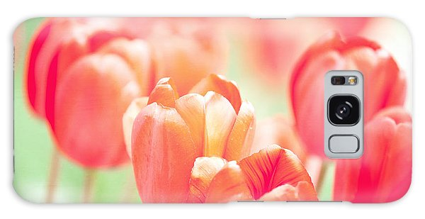 Tulips In The Sun Galaxy Case