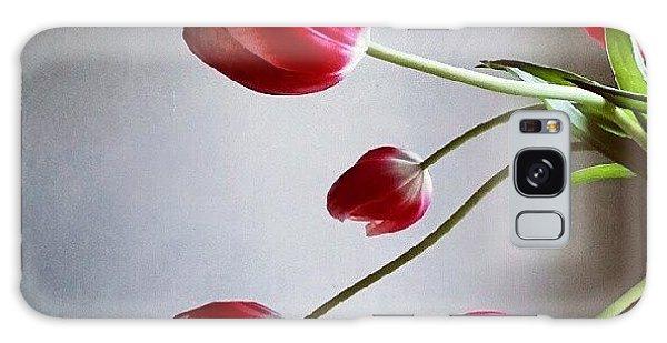 Florals Galaxy Case - Tulips by Jill Tuinier