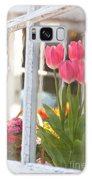 Tulips Of Greenhouse Galaxy Case by Aiolos Greek Collections