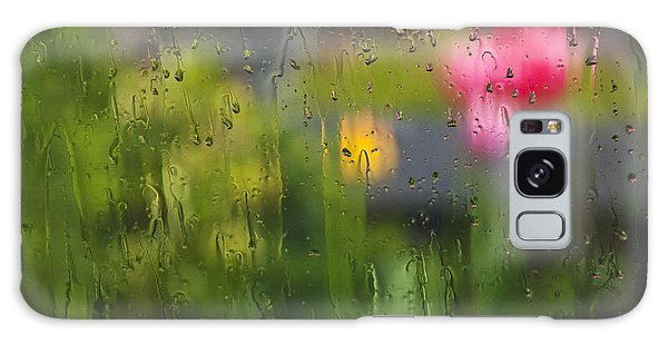 Tulips Through The Rain Galaxy Case
