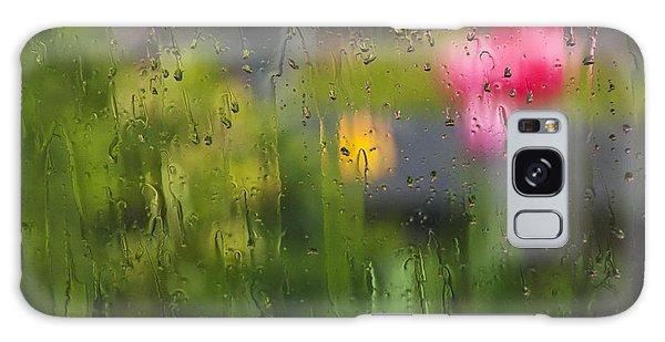 Tulips Through The Rain Galaxy Case