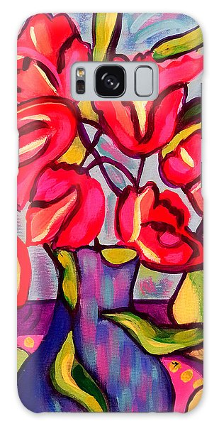 Tulips With Fruit Galaxy Case