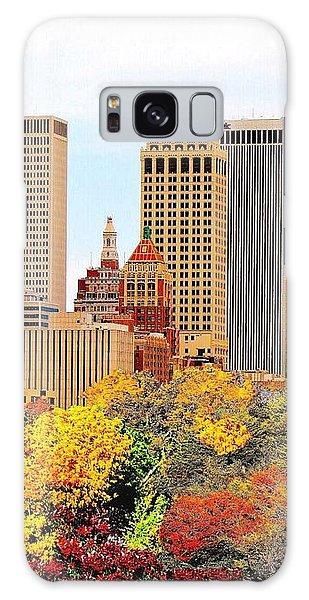 Tulsa Oklahoma In Autumn Galaxy Case