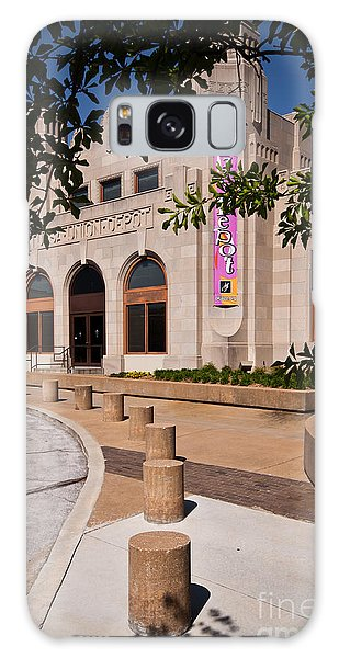 Tulsa Union Depot Galaxy Case by Lawrence Burry