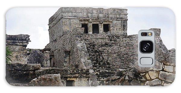 Tulum Ruins 15 Galaxy Case