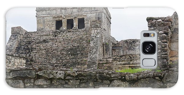 Tulum Ruins 17 Galaxy Case