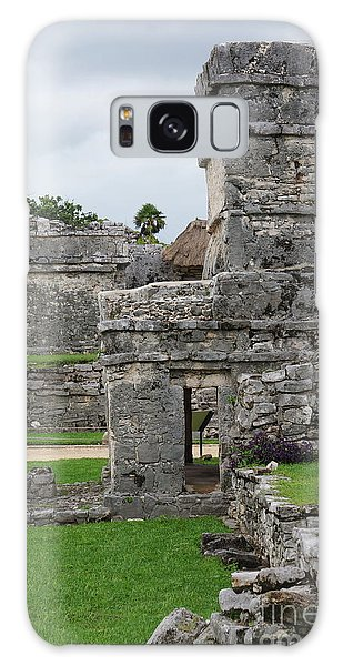 Tulum Ruins 19 Galaxy Case