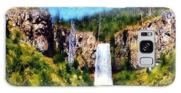Tumalo Falls Galaxy Case