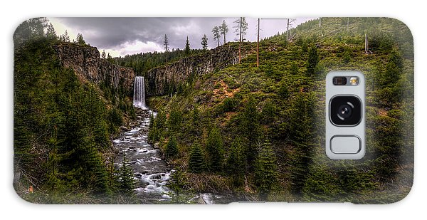 Galaxy Case featuring the photograph Tumalo Falls by Matt Hanson