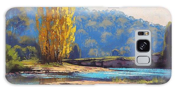 Stream Galaxy Case - Tumut River Poplar by Graham Gercken