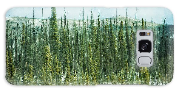 Boreal Forest Galaxy Case - Tundra Forest by Priska Wettstein