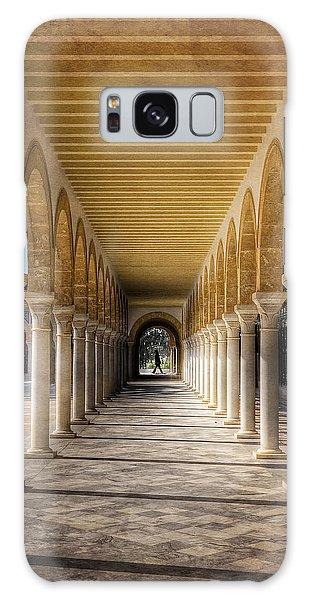 Galaxy Case featuring the photograph Tunisian Arches / Monastir by Barry O Carroll