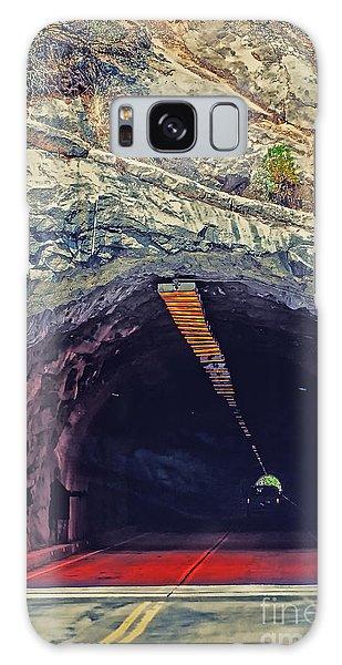 Tunnel At Yosemite Galaxy Case