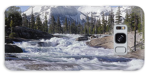 6m6539-tuolumne River  Galaxy Case