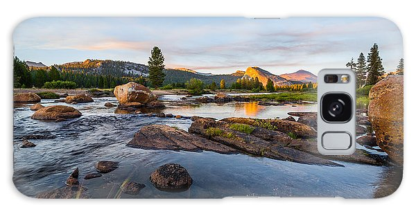 Tuolumne River Galaxy Case by Mike Lee