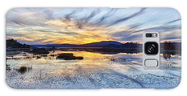 Tupper Lake Sunset Hdr 01 Galaxy Case