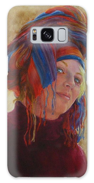 Turban 2 Galaxy Case by Connie Schaertl