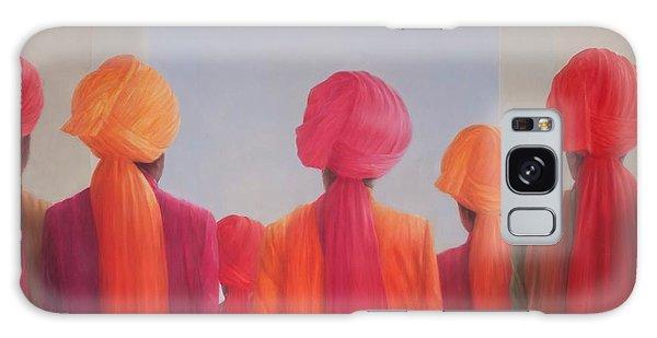 Turban Galaxy Case - Turban Group, 2012 Acrylic On Canvas by Lincoln Seligman