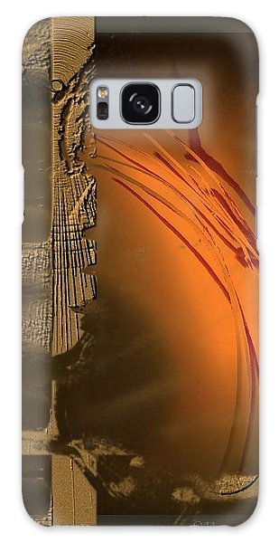 Turbulence In Gold Galaxy Case by Ines Garay-Colomba