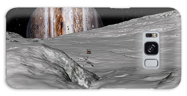 Turbulent Giant Galaxy Case by David Robinson