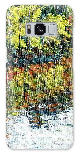 Turkey Creek Nature Trail Galaxy Case by Randy Sprout