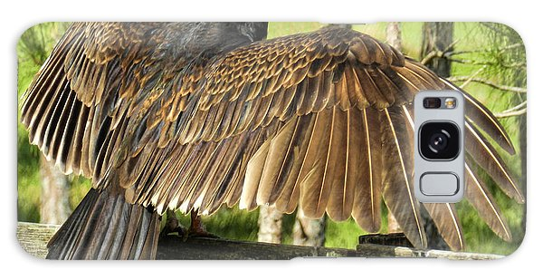 Turkey Vulture Wings Spread Galaxy Case