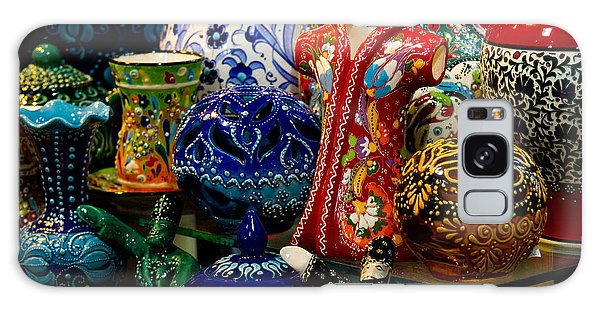 Turkish Ceramic Pottery 2 Galaxy Case