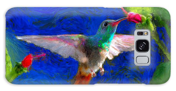 Da052 Turkscap Hummingbird  Galaxy Case