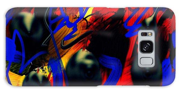 Turmoil Galaxy Case by Paulo Guimaraes