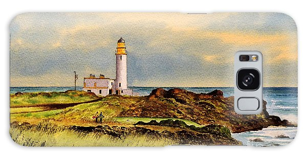 Turnberry Golf Course 9th Tee Galaxy Case