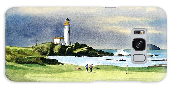 Golf Galaxy S8 Case - Turnberry Golf Course Scotland 10th Green by Bill Holkham