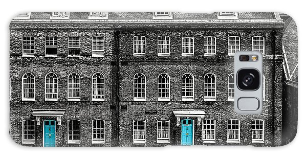 Turquoise Doors At Tower Of London's Old Hospital Block Galaxy Case